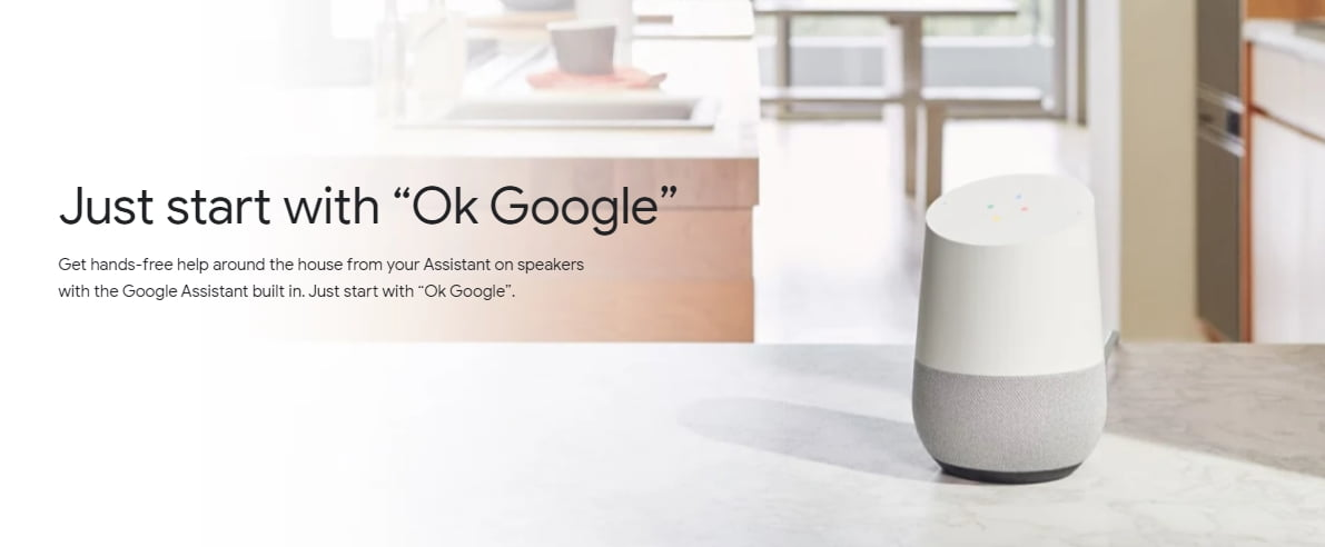 google assistant in google home