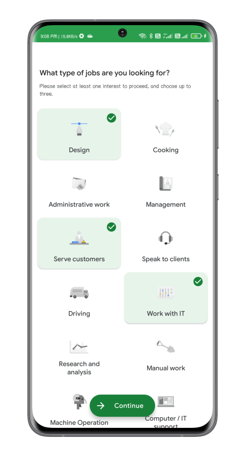 kormo job app